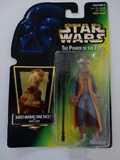 1997 Star Wars POTF Saelt-Marae Yak Face with Battle Staff Action Figure