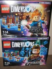 LEGO DIMENSIONS DOUBLE GHOSTBUSTERS & FANTASTIC BEASTS STORY PACKS - BNIB