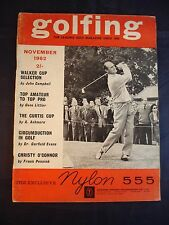 Vintage - Golfing - November 1962 - Birthday gift for the Golfer
