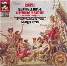 Roussel: Bacchus et Ariane / Le Festin De L'Araignee (Spider's Banquet) FINE CD