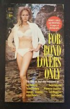 """IAN FLEMING """"FOR BOND LOVERS ONLY"""" 007 VGF JAMES BOND CONNERY URSULA ANDRESS"""