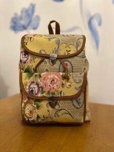 Ladies Women large Travel backpack Authentic Turkish KilimRucksackShoulder Bag