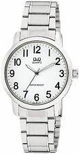 Q&Q Q868J204Y by Citizen Stainless Steel White Dial Analog Numeral Men's Watch