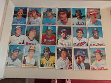 Topps For the Fun of It - 1980 Large Cards Lot 43 of 60 -Ryan Bench, Seaver, Etc