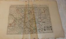"1692 Huge 25x38"" Map: French Ille-de-France Region and the Generality of Paris"