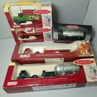 Lot Of 5 Trackside Oo Gauge Diecast Vehicles Boxed Wagons