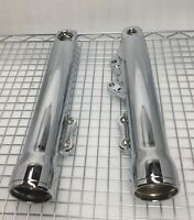 HARLEY 2018 SOFTAIL FXLR CHROME LOW RIDER FORK LEGS SLIDERS OEM (OUTRIGHT)