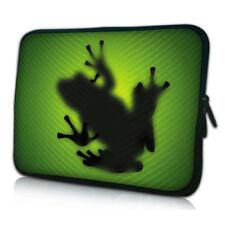 Design Tablet PC Netbook Tasche bis 10,1 Zoll (25,6cm) Schutz Hülle GREEN FROG