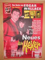 Neues vom Hexer Heinz Drache Margot Trooger Kinski Filmplakat 60x80cm gefaltet