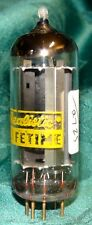 Vintage Realistic 6V4 EZ80 Rectifier Vacuum Tube Very Strong & Balanced Goldpins