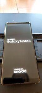 Samsung Galaxy Note8 Duos SIM SM-N950F/DS - 64GB - Midnight Black (Unlocked)