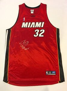 Shaquille O'Neal Heat 2006 NBA Champs Signed Autograph Basketball Jersey