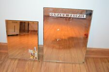 Dewar's Scotch Profile Mirror Set of 2 - Vintage - Rare