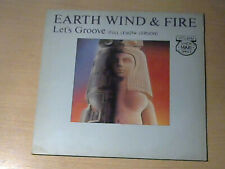 "12"" EARTH WIND & FIRE * Let`s Groove EXTENDED MAXI VERSION (MINT-) SOUL/FUNK"