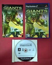 Giants: Citizen Kabuto - PLAYSTATION 2 - PS2 - USADO - MUY BUEN ESTADO