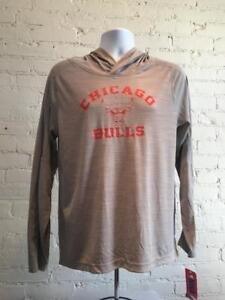 Chicago Bulls Boys Youth Small 6/7 Lightweight Thin Pullover Hoodie - CLOSEOUT