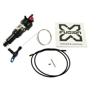 New Style X-Fusion O2 PRO RLR Rear Shock 165x38mm with Remote Control
