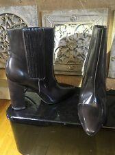 Pour La Victoire Pointy Toe Patent  Heel Bootie Sz 8