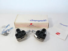 "Campagnolo SGR Pedal Set Clipless 9/16"" w cleats C Record Bike Delta Record NOS"
