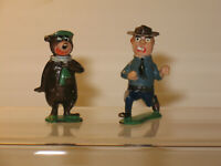 MARX Disneykins YOGI BEAR and Park Ranger Miniature Figure