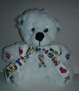 6 Inch Autism Teddy Bear