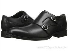 Cole Haan Men's Copley Double Monk Oxford Shoes Black - Size 10 - NWB