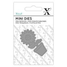 Xcut Mini Dies Flower Pot Die Cut Stencil