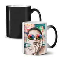 Space Glasses Fashion NEW Colour Changing Tea Coffee Mug 11 oz | Wellcoda