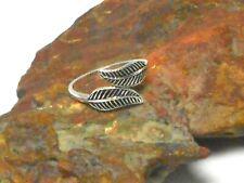 Adjustable Leaf Design TOE  RING  Sterling  Silver  925  -  Gift  Boxed