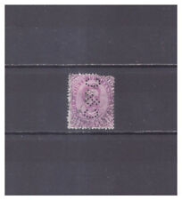 Italy Perfins used 1 stamp #55