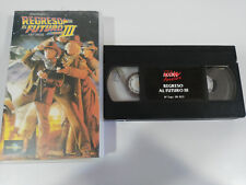 REGRESO AL FUTURO III STEVEN SPIELBERG ZEMECKIS J FOX - VHS EDICION ESPAÑOLA &