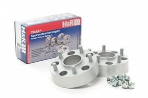 H&R Trak+ Wheel Spacers DRM 15mm 5x114.3 1/2in UNF Thread 70.5 Center Bore, Stud