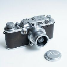 Leica IIIa camera with unknown 50mm f2 lens