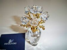 Swarovski Clear Roses 675655 Retired Nib Coa