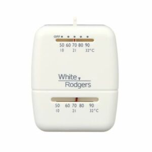 Emerson White-Rodgers 1C20-101 Heat Only Mechanical Thermostat, 24V