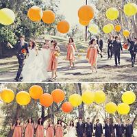 "36"" Inch Balloon Giant Big Ballon Latex Birthday Wedding Party Helium Decor LI"