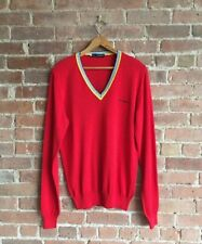 DSquared2 SWEATER 100% Cotton Made In Italy.  Sz Medium Red