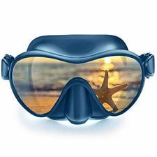 Scuba Mask, Diving Snorkel Frameless Mask Goggles, Anti-Fog Anti-Leak