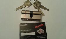 MAUER MLS SKG** Red Line High Security Euro Cylinder Lock 3 Keys