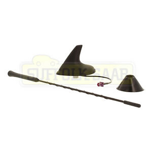 SAAB 93 9-3 04-12MY CV CONVERTIBLE AERIAL ANTENNA BASE COVER TRIM MAST SHARK FIN