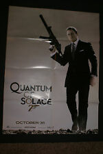 "JAMES BOND ""QUANTUM OF SOLACE"" UK DUAL SIDED 22"" X 28"" OFFICIAL POSTER 2008 OOP"