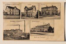 29166 AK Tornesch Sprit Fabrik Konserven Fabrik Bahnhof Post Gasthaus 1907