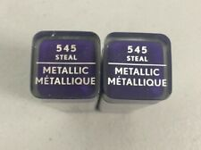 2 CoverGirl Exhibitionist Metallic Lipstick #545 Steal Factory Sealed