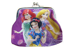 GIRLS DISNEY PRINCESS PURSE SNOW WHITE REPUNZEL ARIEL 655540
