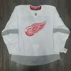 NWT MiC Adidas Detroit Red Wings Reverse Retro Authentic Hockey Jersey 56