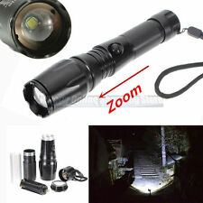Military Grade Tactical Rechargeable LED Flashlight CREE T6 1800LM TC1200 Style