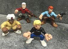 "Custom 2"" Jonny Quest Hadji Benton Race Bannon Figures Squad Heroes Cartoon"