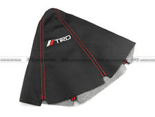 For JDM Toyota TRD Leather Gear Shift Knob Gaiter Glove Cover (Red Stitch)