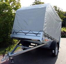750 kg PKW Anhänger kippbar Trailer GN126 inkl Spriegel & Hochplane 1,20m Neu