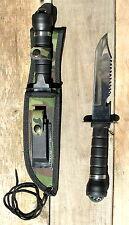 Couteau de survie Chasse  pêche / armée Commando + Accessoires